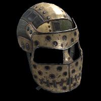 Huntsman Facemask Rust Skin