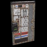 Power Door Rust Skin