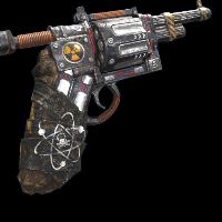 Nuke Pistol Rust Skin