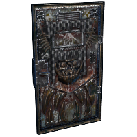 Armored Scrapper Door Rust Skin