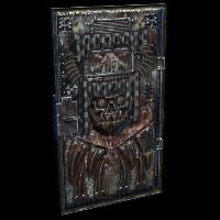 Armored Scrapper Door