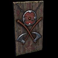 Rust Hut Door Skins