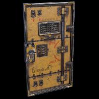 Blast Armored Door Rust Skin