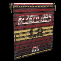 Rust ZENLABS Garage Door Skins
