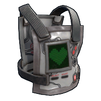 Playmaker Chest Plate Rust Skin