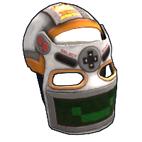 Playmaker Facemask Rust Skin