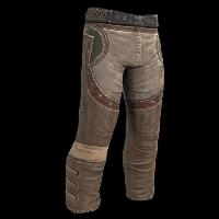 Burlap Bandit Pants Rust Skin