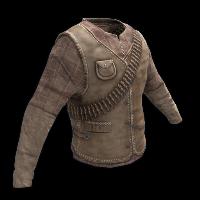 Burlap Bandit Shirt Rust Skin