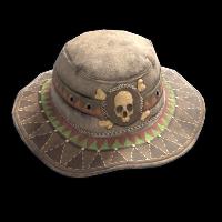 Burlap Bandit Hat Rust Skin
