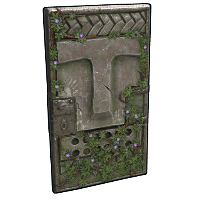 Ancient Totem Door Rust Skin