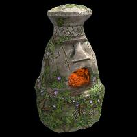 Ancient Totem Furnace Rust Skin