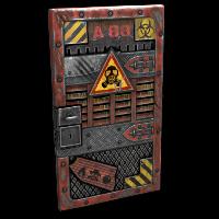 Toxic Door Rust Skin
