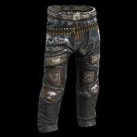 Rust Mad Rider Pants Skins