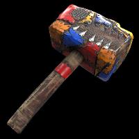 Calamity Hammer Rust Skin