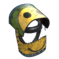 Peacemaker Helmet Rust Skin