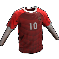 Rust Footballer Shirt Rust Skin