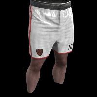 Rust Footballer Shorts Rust Skin