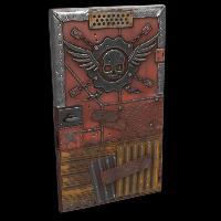 Bandit Sheet Metal Door Rust Skin