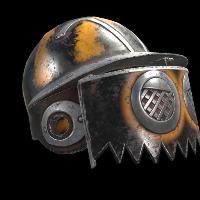 Bumble Bee Helmet Rust Skin