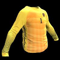 Rust Goalkeeper Shirt Rust Skin