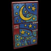 Night Sky Door