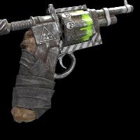 Radioactive Revolver Rust Skin