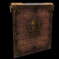 Rust Cursed Pirate Garage Door Skins