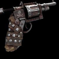 Metalhead Revolver Rust Skin