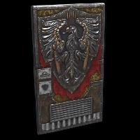 Winged Guardian Door