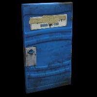 Potty Door Rust Skin