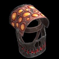 Scary Helmet Rust Skin