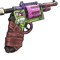 Frankenstein Revolver Rust Skin