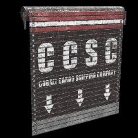 Cobalt Cargo Door Rust Skin