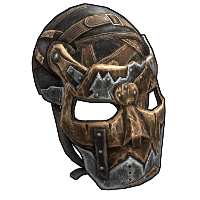 Wanderer's Face Mask Rust Skin