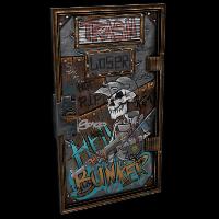 HellBunker Door Rust Skin