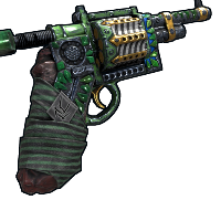 Emerald Revolver Rust Skin