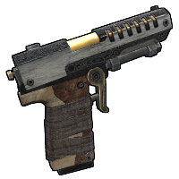Cold-Forged Pistol Rust Skin