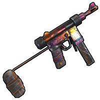 Tempered SMG Rust Skin