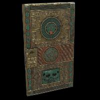 Aztec Gold Door Rust Skin