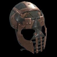 Rust Conquistador Face Mask Skins