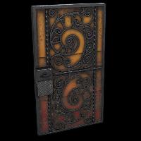 Blacksmith's Door Rust Skin