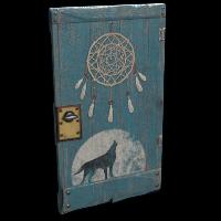 Dreamcatcher Door Rust Skin