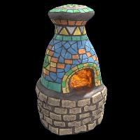 Mosaic Furnace Rust Skin