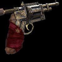 Phantom Revolver Rust Skin