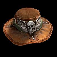 Hunted Hat Rust Skin