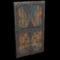 Fortified Castle Door