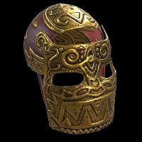 Legendary Gold Facemask Rust Skin