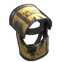 Caution Helmet Rust Skin