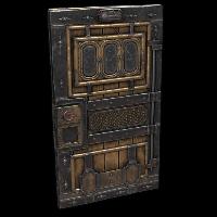 Railway Door Rust Skin