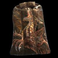Golden Drake Sleeping Bag Rust Skin